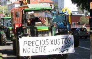 GANADEROS LACTEOS GALLEGOS PROTESTAS LUGO 3