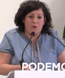 ESTEFANIA TORRES EUROPAR PODEMOS AGRICULTURA
