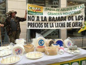 CABREROS LECHE DE CABRA PROTESTAS 3