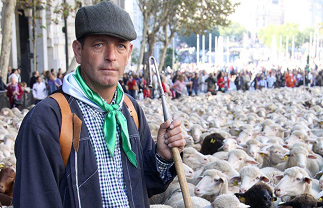 El ganadero trashumante extremeño Miguel Cabello, premio Orgullo Rural 2017 de la Fundación Estudios Rurales