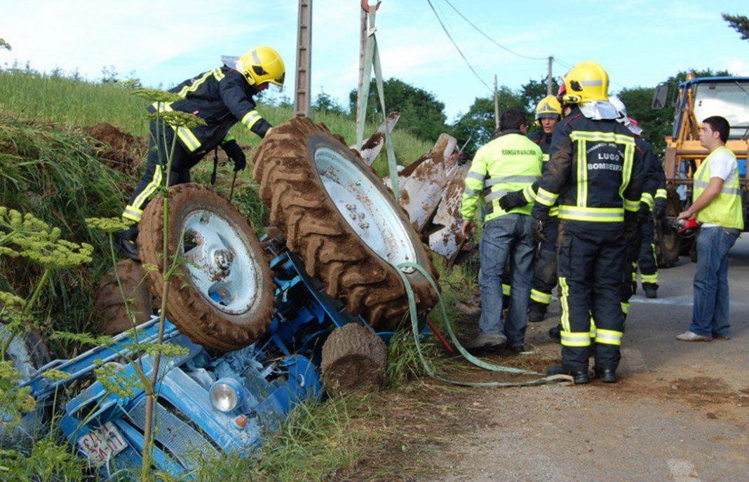 Los tractores provocan el mayor número de accidentes mortales en el mundo rural
