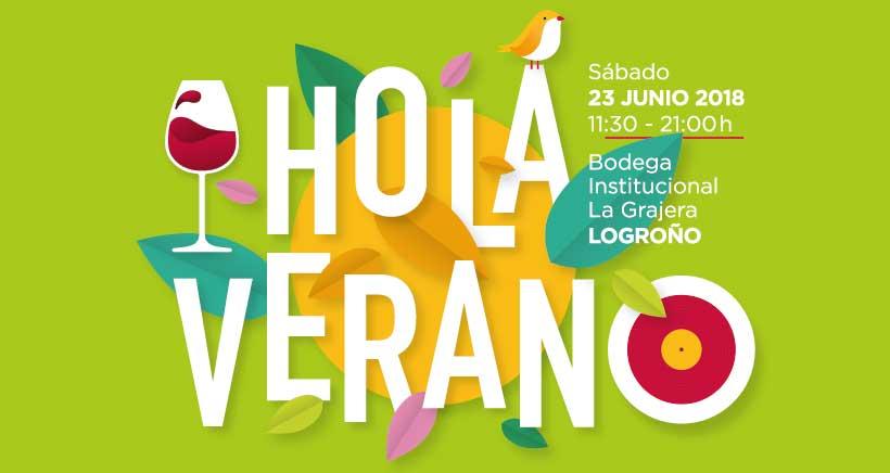 Una treintena de bodegas y productores alimentarios participan en la fiesta «Hola Verano» de La Rioja