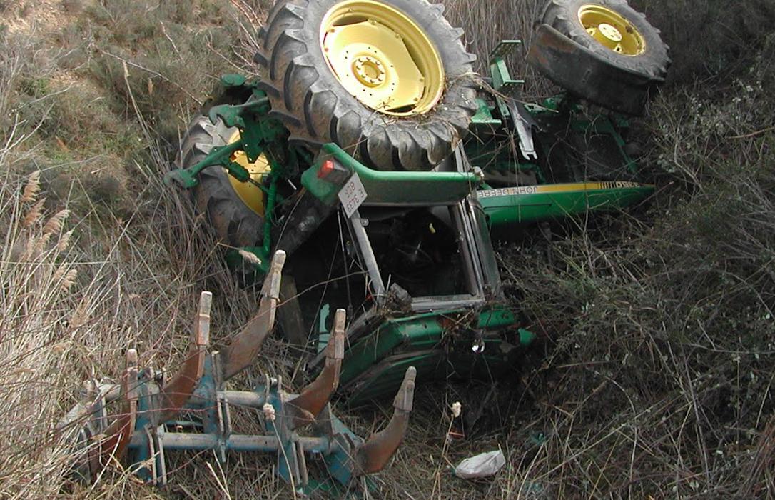Tragedia en Jaén: Segunda muerte por accidente laboral en el campo tras quedar atrapado por un tractor