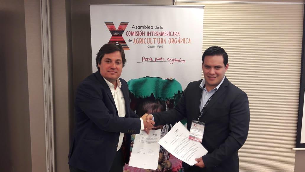 Ecovalia firma el Convenio de la Comisión Interamericana de Agricultura Orgánica (CIAO)