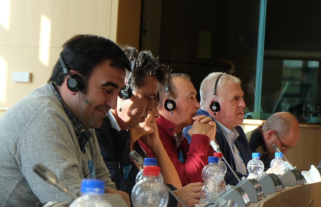 Una delegación de COAG lleva hasta Bruselas su defensa de un modelo social agrario