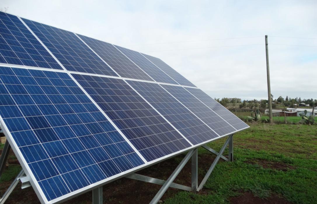 El primer riego fotovoltaico de La Rioja, una apuesta por la innovación y las energías renovables