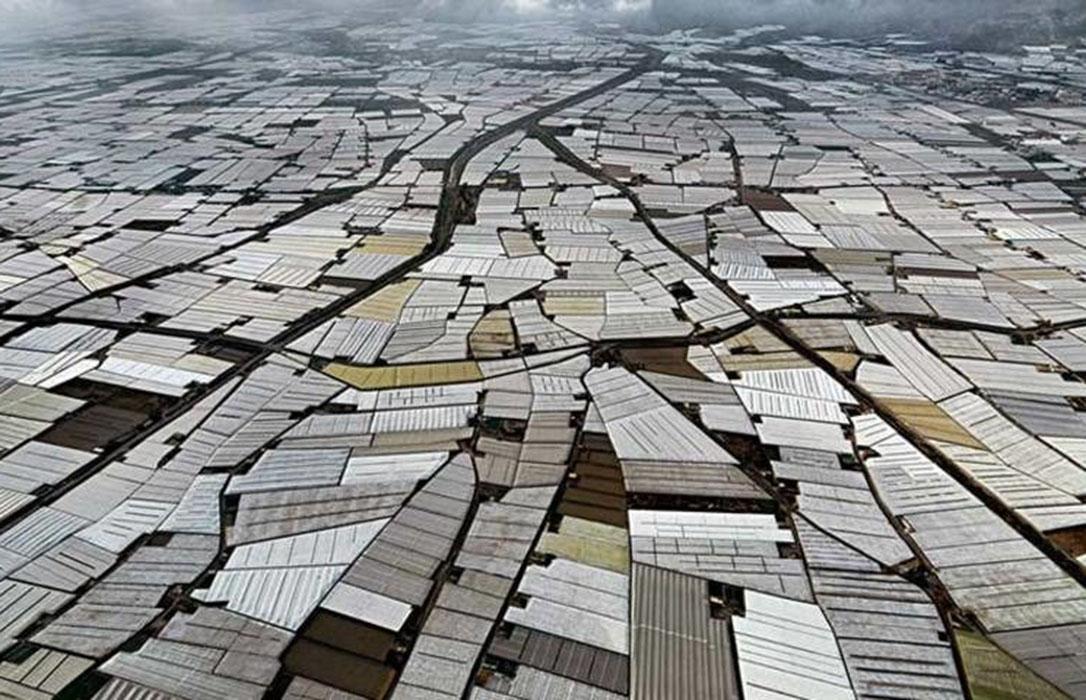 La marea del mar de plásticos sigue subiendo: Crece de nuevo la superficie de invernaderos de Andalucía