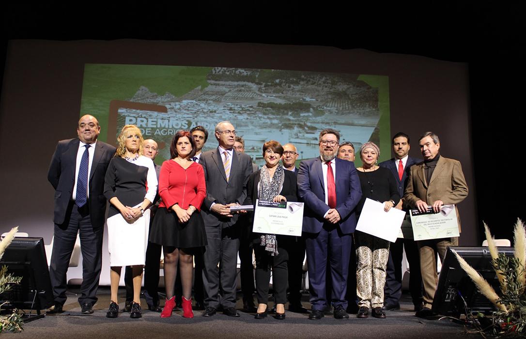 Premios de Agricultura y Pesca, una muestra «inequívoca del enorme talento» de Andalucía