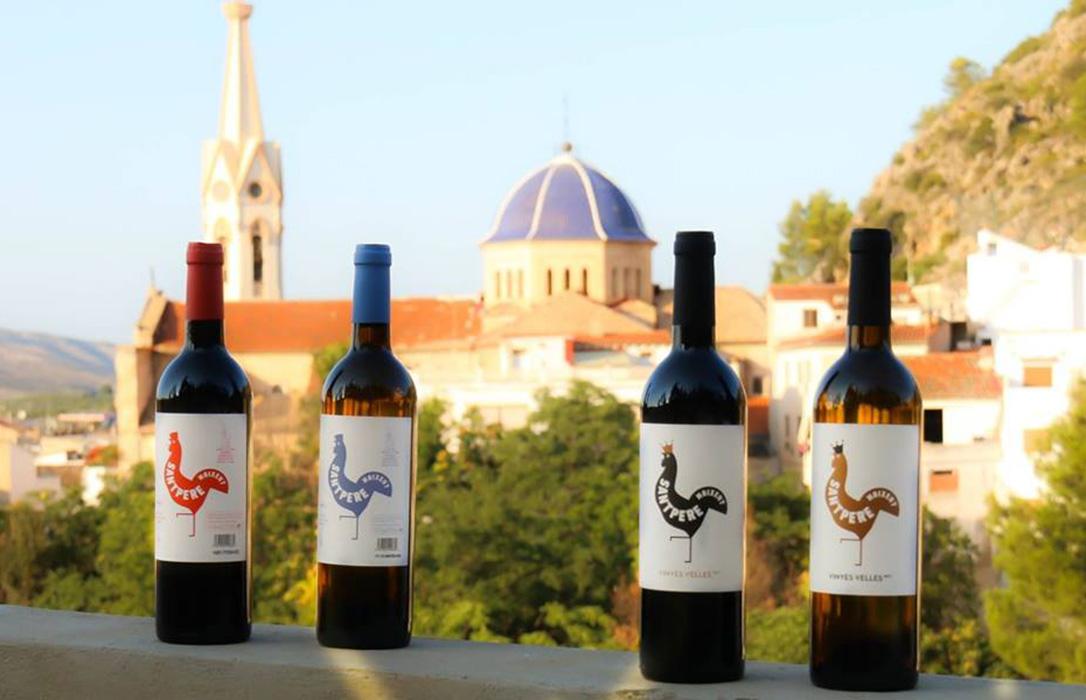 La tradición vitícola de la cooperativa de Moixent resurge con los nuevos vinos Sant Pere
