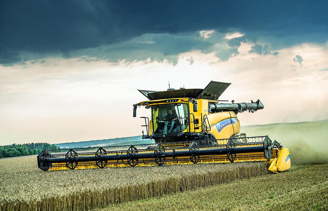 New Holland, premio a la innovación SIMA 2019 por el inversor del rodillo de alimentación dinámica de la cosechadoras