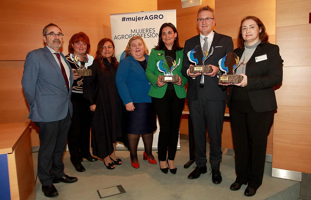 Casa Gutier, Valgenetics, Ricardo Oteros y Mariló Corral, premios Mujer Agro 2018