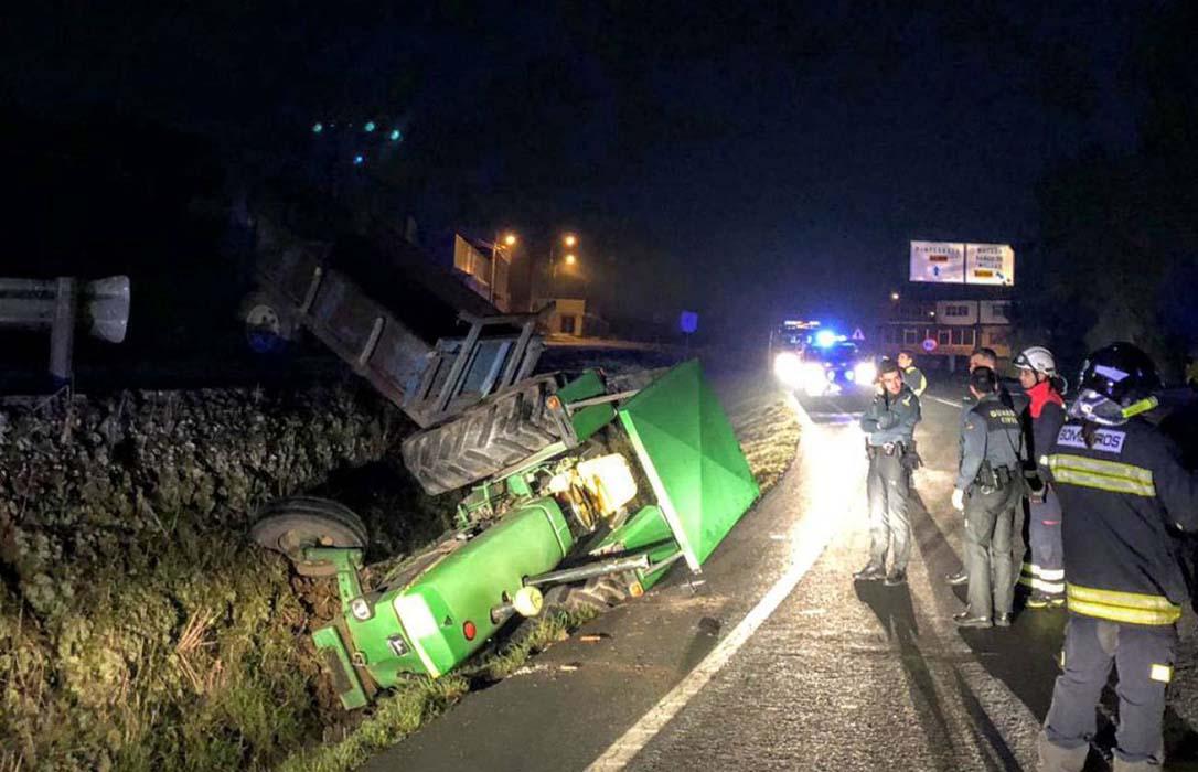 Otros dos heridos en diversos accidentes relacionados con tractores en un solo día