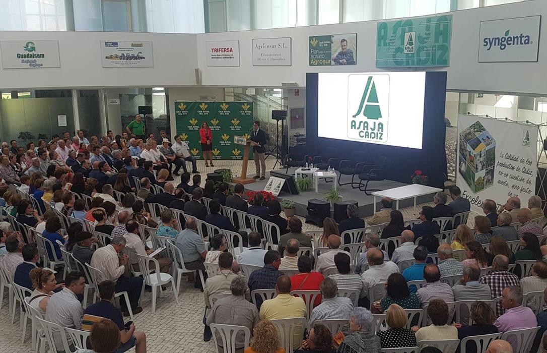 I Congreso Internacional sobre agricultura organizado por Asaja Cádiz para conocer las necesidades de Europa