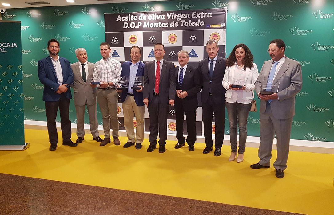 Premios Cornicabra: La Fundación de la DOP Montes de Toledo premia la calidad del AOVE de Casas de Hualdo