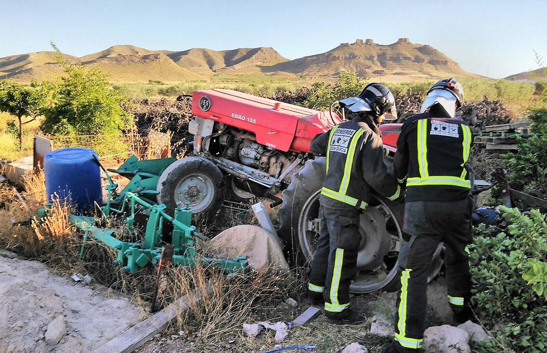 Un drama que se repite: Dos nuevos fallecidos, de 80 y 73 años, al volcar sus tractores este viernes