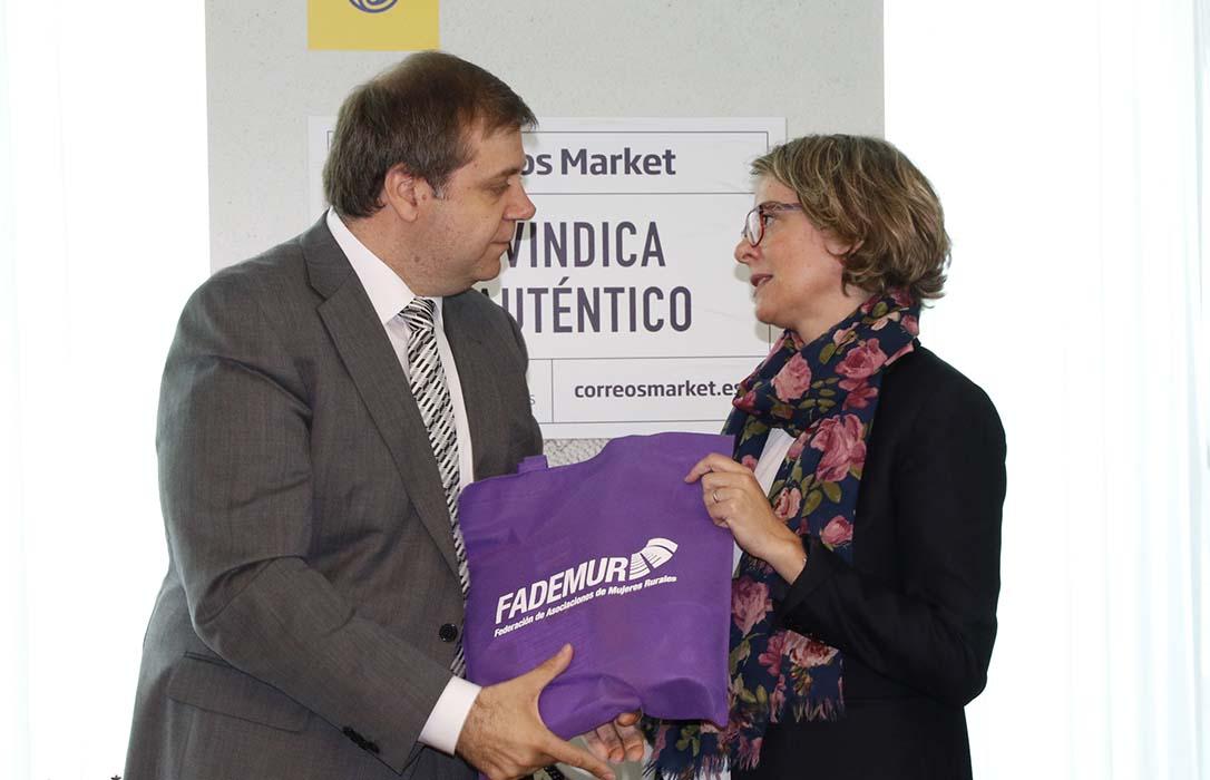 FADEMUR colabora con Correos Market para impulsar productos del medio rural