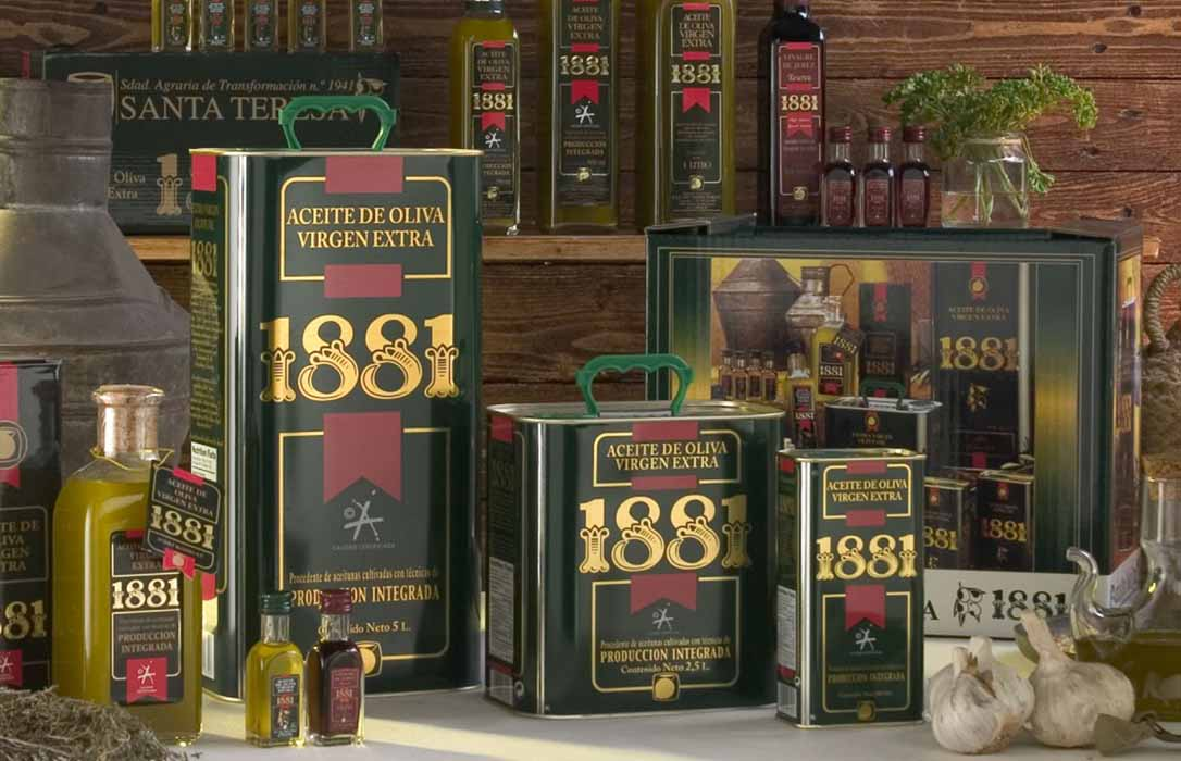 Migasa gestiona el rescate de una reconocida marca de aceite y aceitunas de Sevilla: 1881