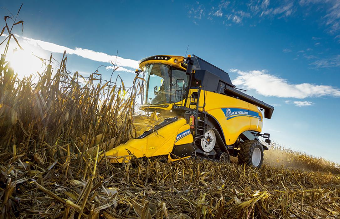 New Holland lanza la aplicación Grain Loss Calculator para facilitar un ajuste óptimo de la cosechadora