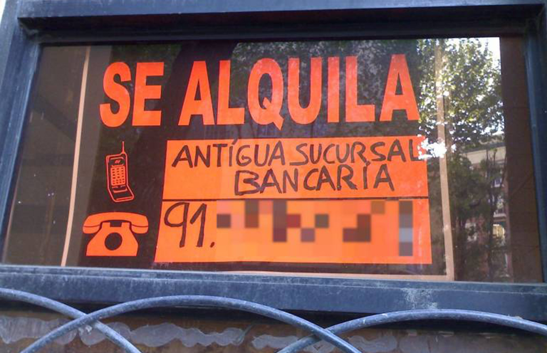 España vaciada: Denuncian que ya hasta las oficinas bancarias cierran en los pueblos rurales