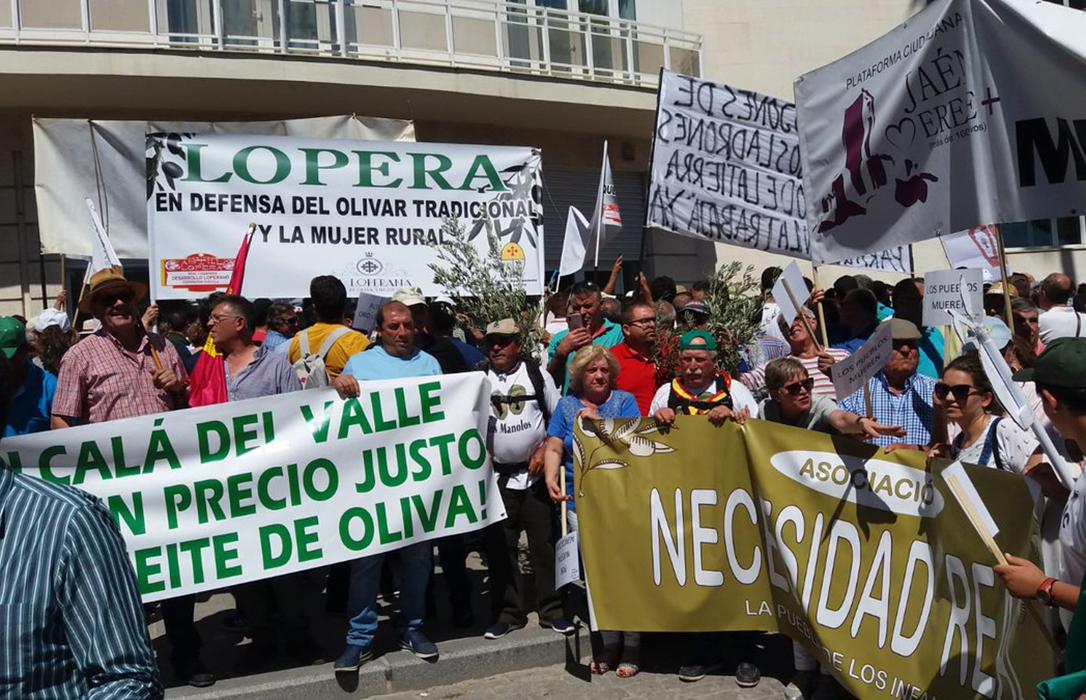 El sector mantiene su hoja de ruta y convoca otra manifestación en Madrid por los bajos precios del aceite