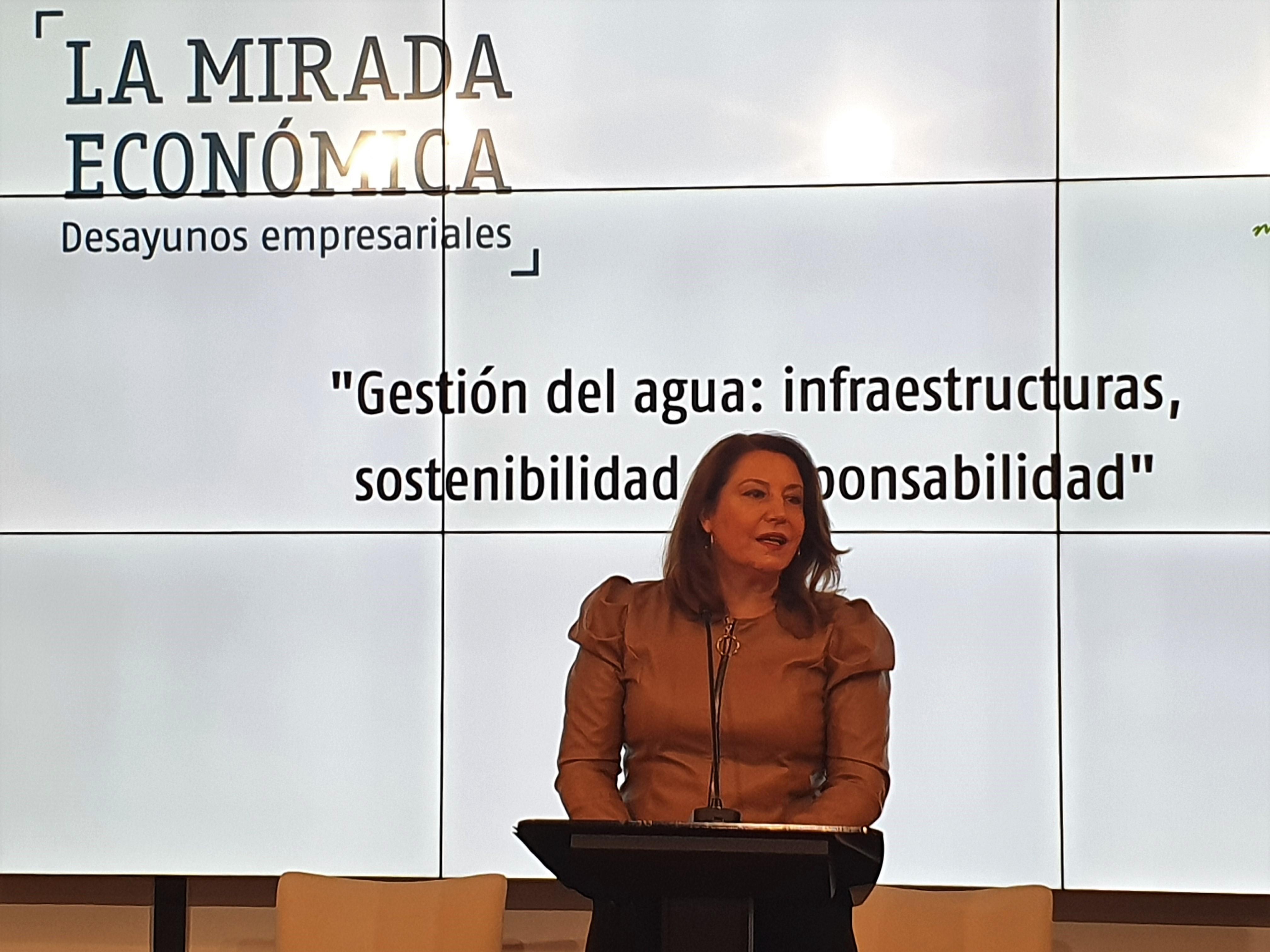 Crespo apuesta por posicionar a Andalucía como ejemplo en uso eficiente del agua y solidaridad entre territorios