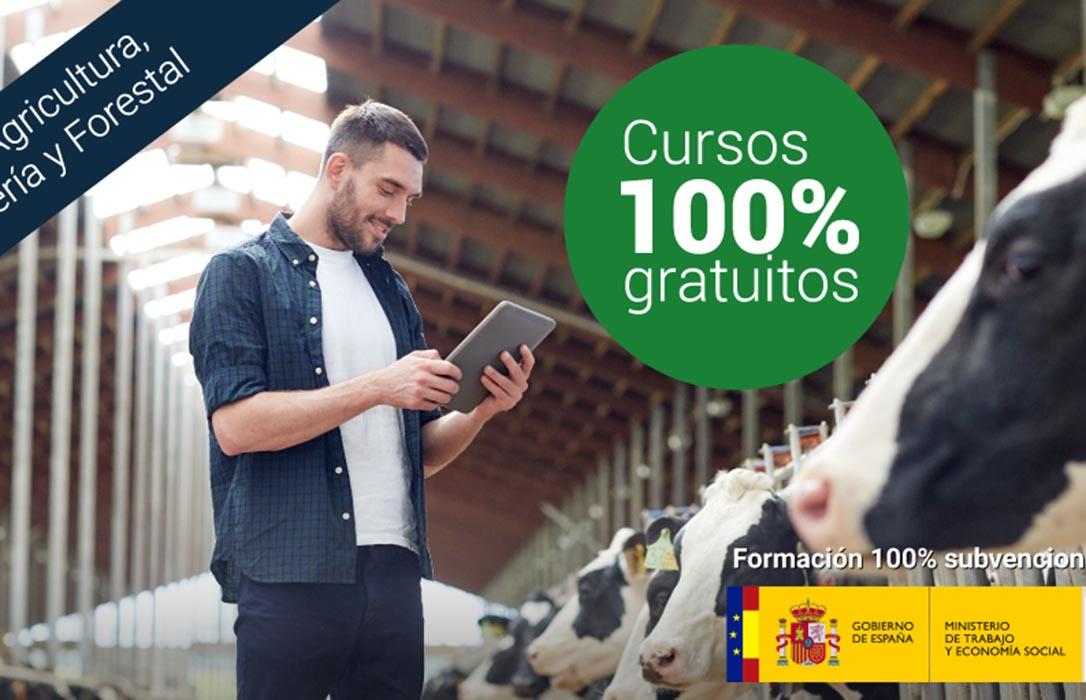 Formación agraria: El Gobierno oferta mil plazas gratuitas para los profesionales del sector agro-ganadero