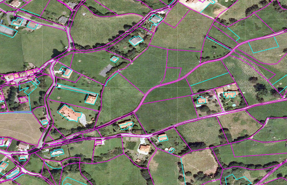 El Sigpac recoge que hay 70,98 millones de recintos o parcelas con un uso único agrario para pedir la PAC