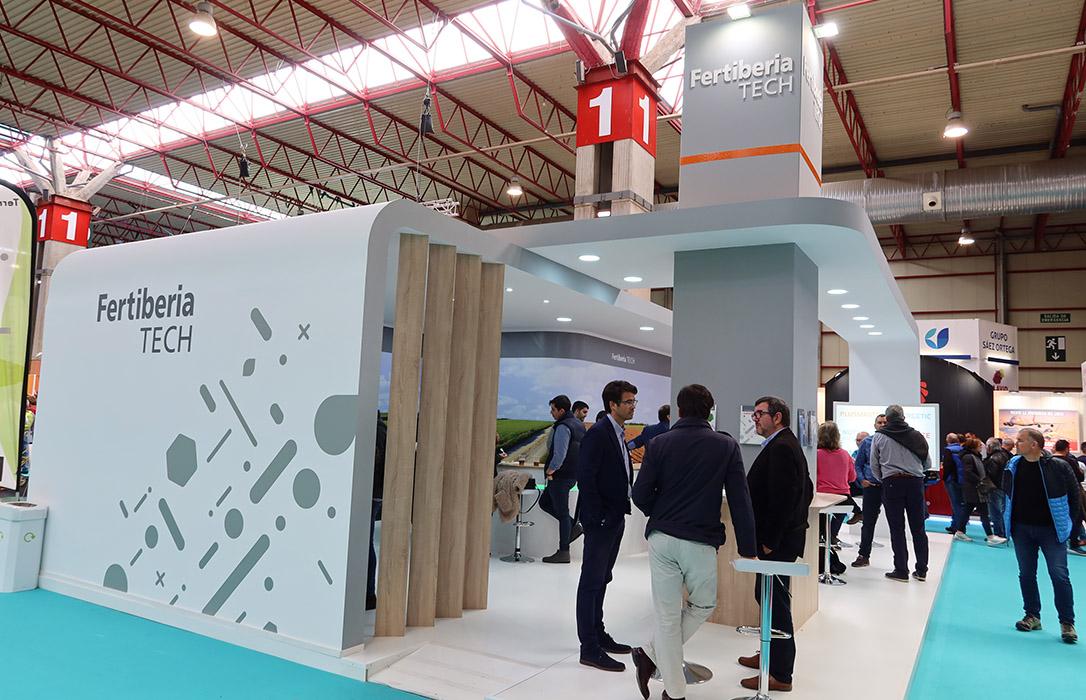 Balance positivo en la presentación de las principales novedades de Fertiberia TECH en la FIMA 2020 de Zaragoza