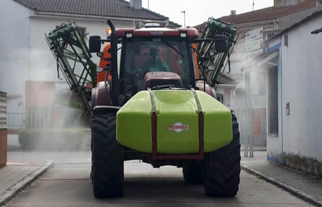 Con la desescalada, los tractores vuelven al campo y ponen fin a una imagen que fue símbolo de la implicación agraria