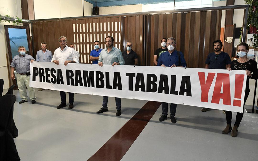 La Plataforma por la Presa de Tabala tomará medidas judiciales sino hay una respuesta a sus peticiones
