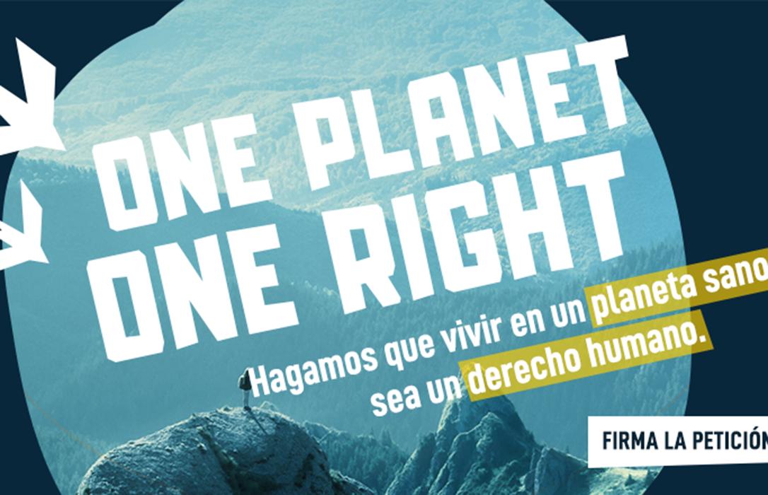 Plantean a la ONU que un medio ambiente natural sano sea un nuevo artículo a la Declaración Universal de Derechos Humanos