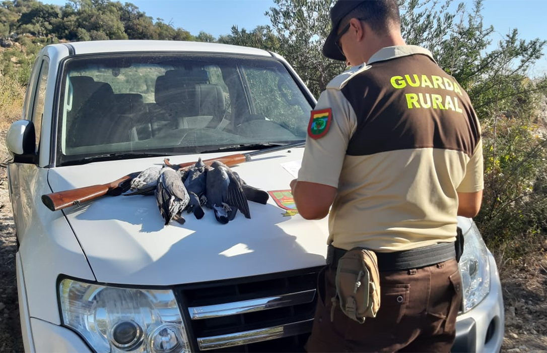 Polémica con cazadores: Los guardas rurales recuerdan que pueden hacer comprobaciones y sancionar y piden respeto a su trabajo