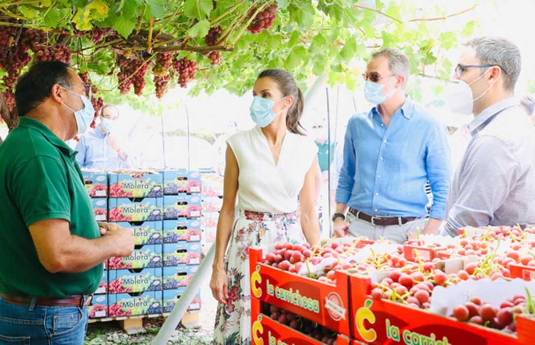 Las cooperativas agrícolas aprovechan la visita del rey para pedir su apoyo al trasvase Tajo-Segura