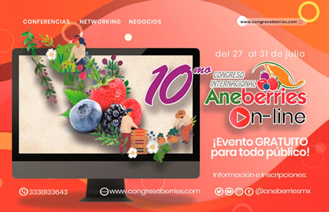 """""""Exitoso y Pionero"""": Principales conclusiones del Décimo Congreso Internacional On Line Aneberries"""