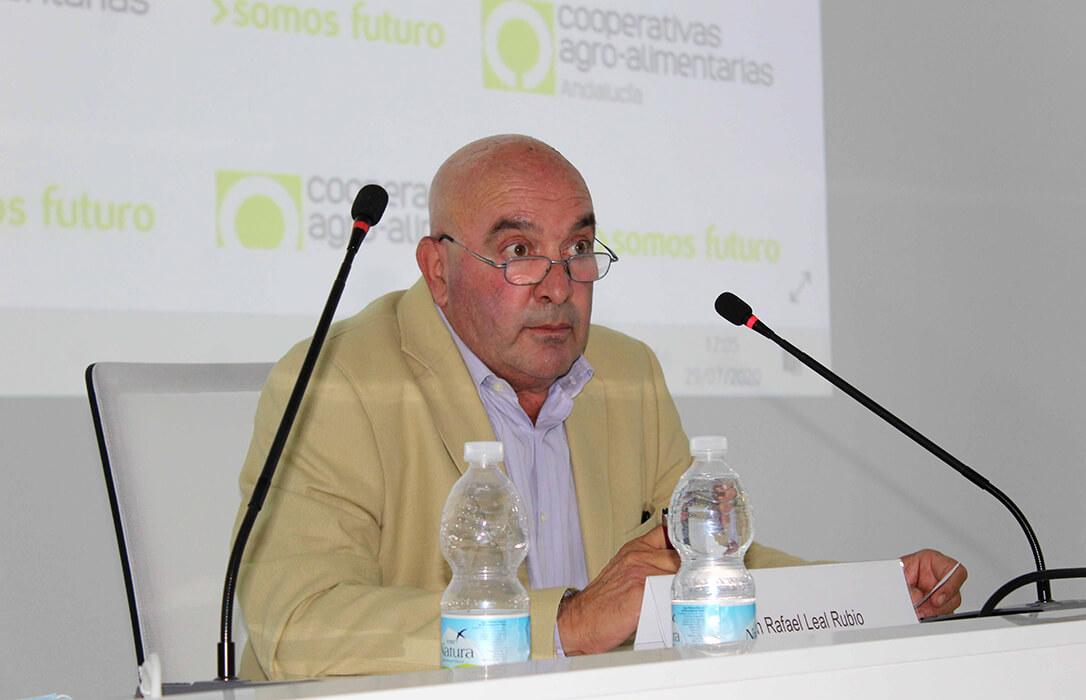 ENTREVISTA. Rafael Leal (Cooperativas Andalucía): «Compartimos que se pague un precio justo si el Ministerio fija los costes»