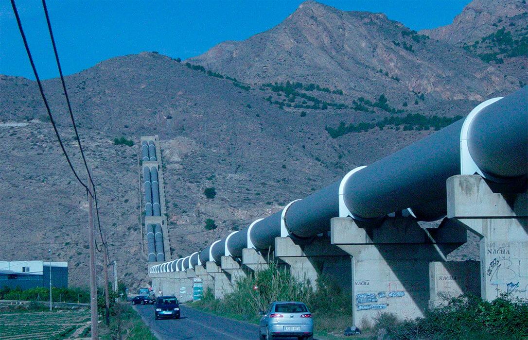 Exigen una provisión de 60 hm3 como adelanto del agua que correspondería recibir del Tajo-Segura durante las obras pendientes