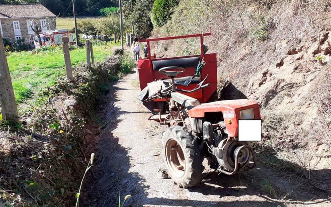 Otras dos muertes en el campo y tres heridos leves en accidentes por el mismo motivo: el vuelco del tractor que conducían