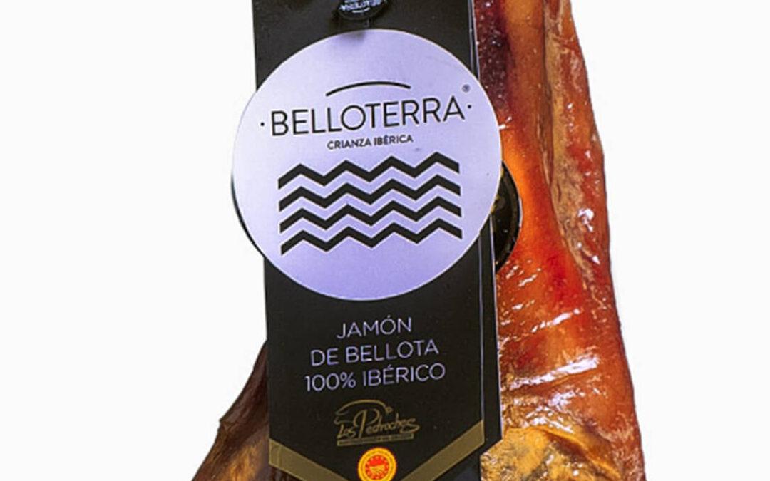 Un jamón ibérico de la firma cordobesa Belloterra, premiado con dos estrellas en los Óscar de la Alimentación Great Taste Awards