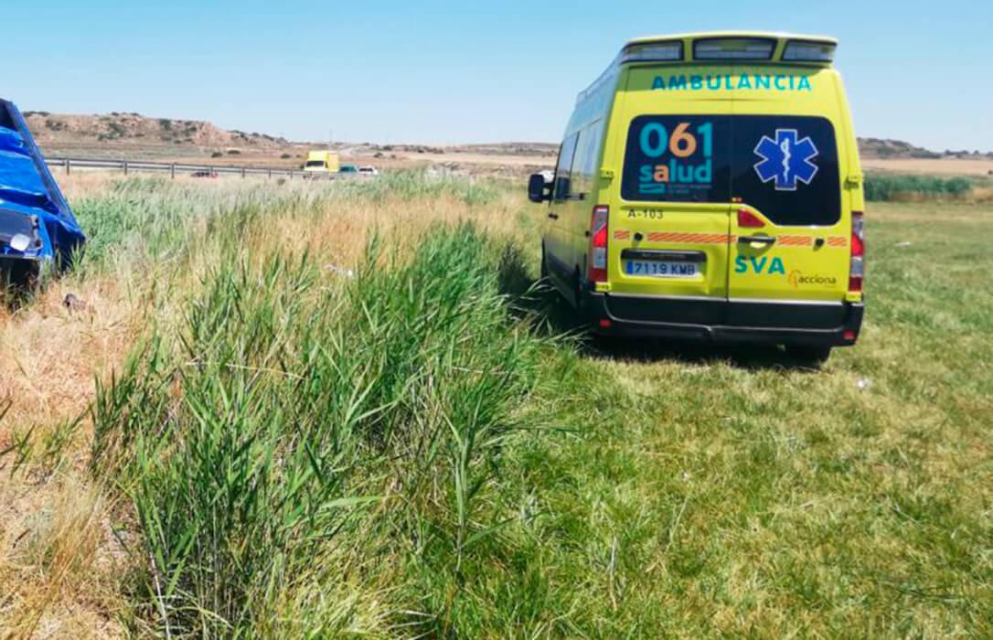Fallece una mujer de 53 años al quedar atrapada por la rueda de su tractor en un pajar de la explotación familiar