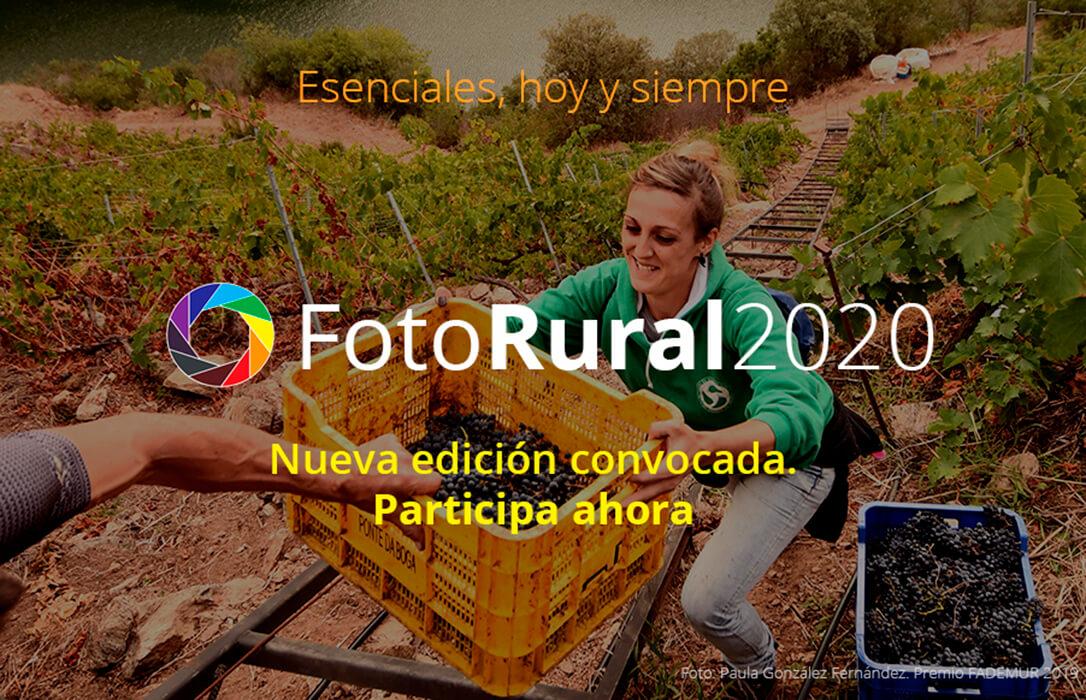 Abierto el plazo para participar en FotoRural 2020, que este año se centra en el concepto de 'Esenciales, hoy y siempre'