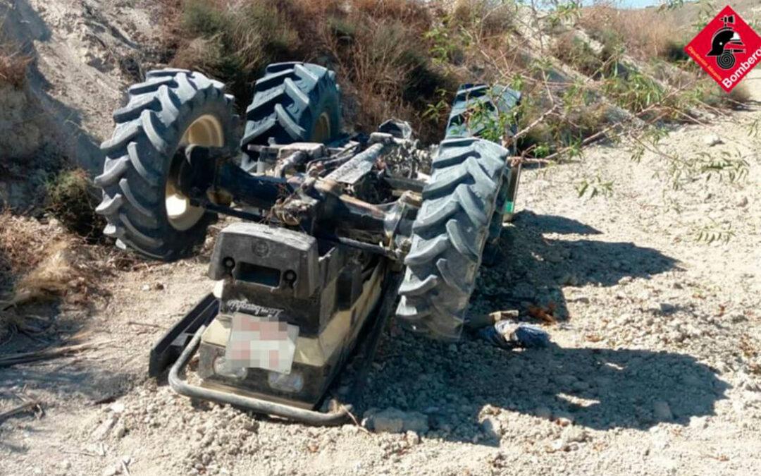 Una tragedia que no cesa nunca: Fallece el segundo octogenario en un accidente con un tractor en tres días