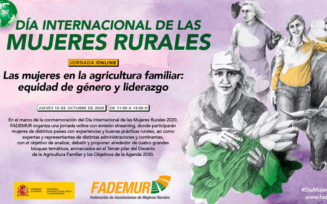 FADEMUR celebrará el Día Internacional de las Mujeres Rurales con un rompedor formato televisivo