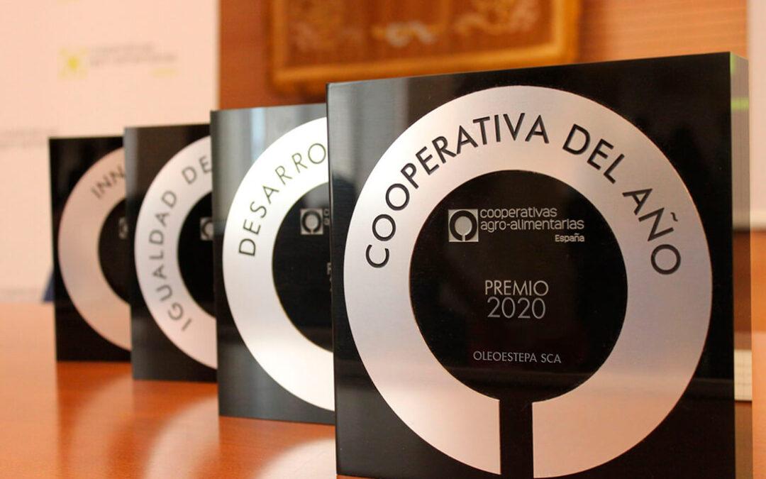 Oleoestepa SCA recibe el premio «Cooperativa del Año» en los Premios Cooperativas Agro-alimentarias de España
