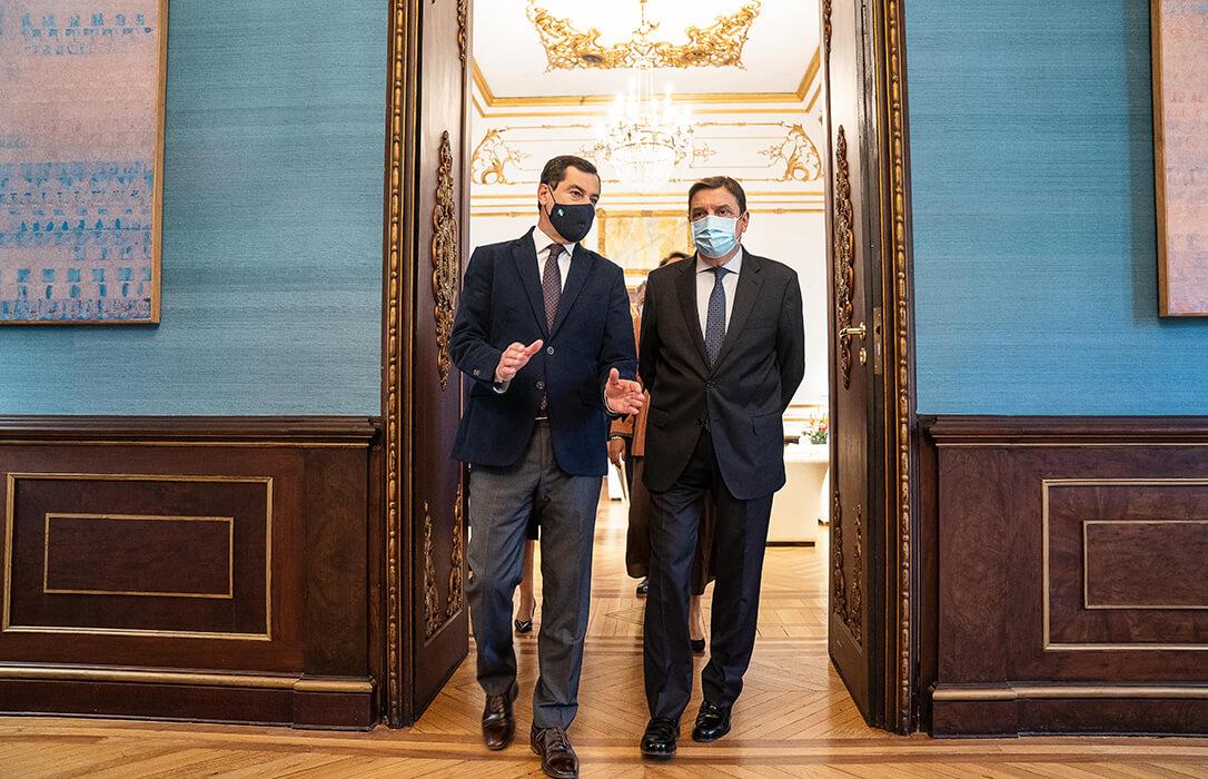 Empate técnico entre Gobierno y Andalucía: Moreno acepta cambios en la PAC pero «no radicales» y Planas respalda la declaración institucional