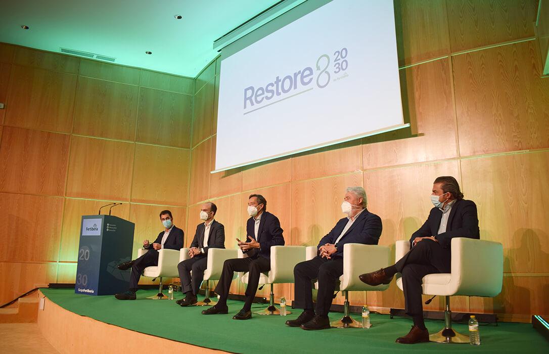 Fertiberia presenta Restore 20/30, un proyecto emblemático a nivel mundial para la restauración de los apilamientos de fosfoyesos