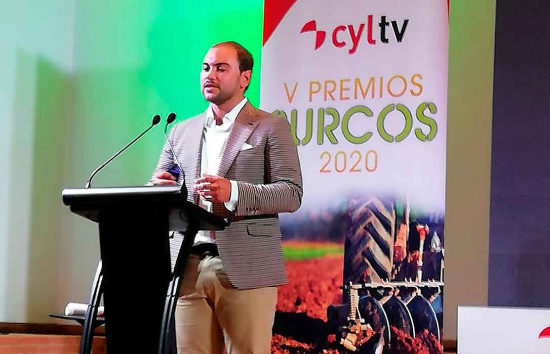 El secretario general de UPA-Joven en CyL, premio Surcos 2020 en la categoría de 'Agricultores Contra el Cambio Climático'