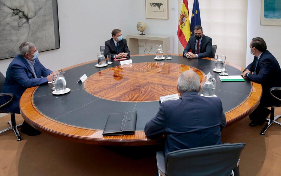 Pedro Sánchez se reúne con el sector para no decir nada nuevo y poner en valor la negociación de la PAC