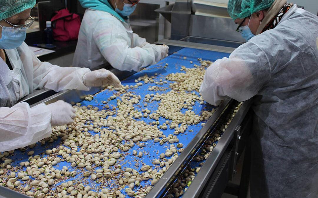 El precio de la almendra ha frenado algo su caída mientras que el pistacho se mantiene muy estable