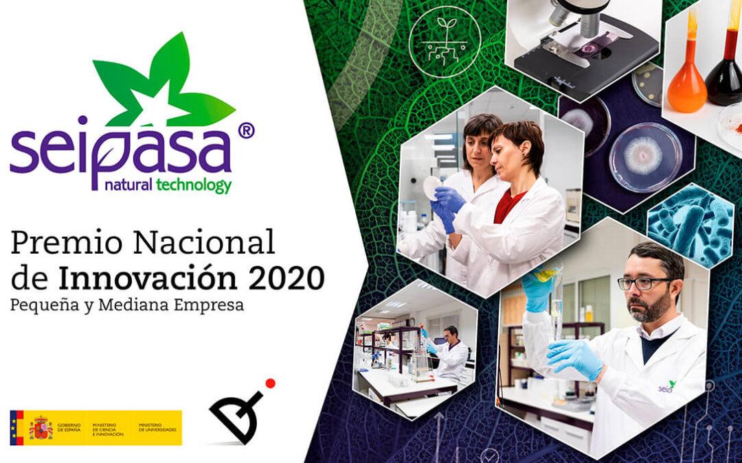 Seipasa gana el Premio Nacional de Innovación 2020 en reconocimiento a su labor de 20 años por la agricultura