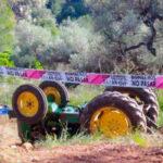 Fallece un hombre de 54 años al volcar su tractor tras un mes de descenso en los accidentes 1